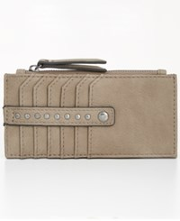 Inc International Concepts I.N.C. Hazell Card Case Created For Macy's Porcini