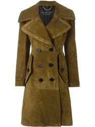 Burberry Wide Lapel Coat Nude And Neutrals