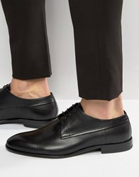 Hugo By Boss Dreron Textured Derby Shoes Black