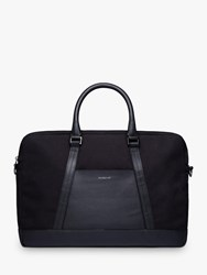 Sandqvist Melker Organic Cotton Briefcase Black