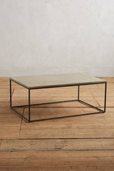 Anthropologie Souline Coffee Table Light Grey