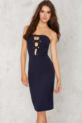 Nasty Gal Fit Of Cage Midi Dress