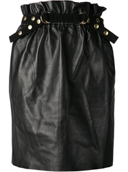 Adam By Adam Lippes Adam Lippes Paper Bag Skirt Black