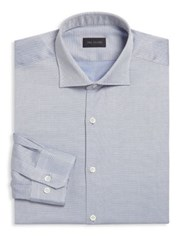 Pal Zileri Full Canvas Dress Shirt Blue