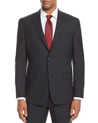 Michael Kors Plaid With Windowpane Classic Fit Suit Separate Sport Coat 100 Exclusive Gray