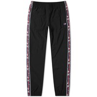 Champion Reverse Weave Vintage Taped Track Pant Black