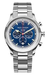 Men's Jack Mason Brand Nautical Chronograph Bracelet Watch 42Mm
