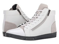 Calvin Klein Berke White Steel Action Suede Men's Lace Up Boots