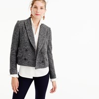 J.Crew Double Breasted Cropped Blazer