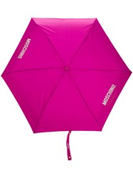 Moschino Super Mini Umbrella Pink