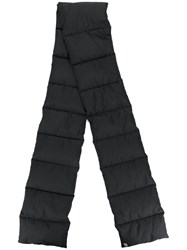 Bacon Padded Scarf Feather Down Polyester Black