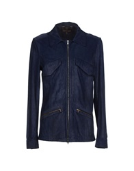 Roberto Cavalli Jackets Dark Blue