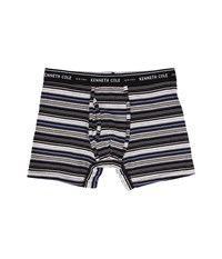 Kenneth Cole Reaction Boxer Brief Black Multi Men's Underwear