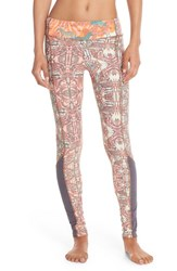 Women's Maaji 'Racer Folk' Print Leggings