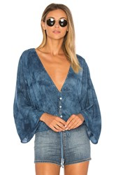 Blue Life Maia Coconut Top Blue