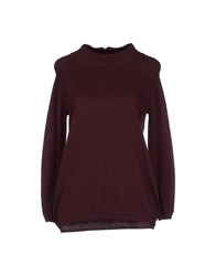 Vero Moda Knitwear Turtlenecks Women Deep Purple