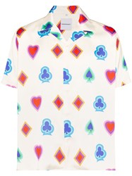 Nasaseasons Wild Card Logo Print Shirt 60