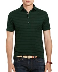 Polo Ralph Lauren Striped Cotton Jersey Shirt Bentley Green