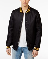 G Star Raw Men's Rs Batt Denim Bomber Jacket Raw Denim