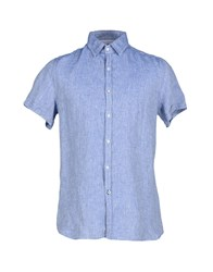 Guess By Marciano Shirts Shirts Men Blue