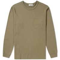 Nanamica Coolmax French Terry Long Sleeve Tee Green
