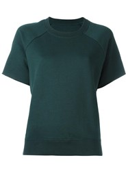 Maison Martin Margiela Mm6 Shortsleeved Sweatshirt Green