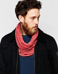 Selected Homme Lightweight Snood Red