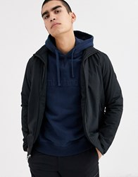 Timberland Insulated Bomber Jacket In Black