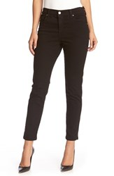Karen Kane Women's 'Zuma' Stretch Crop Skinny Jeans Black