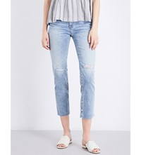 Ag Jeans The Isabelle Straight High Rise 20 Years Rogue