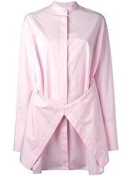 Ports 1961 Layered Shirt Pink Purple