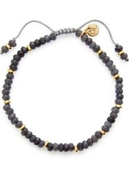Lola Rose Smokey Grey Quartzite Bracelet Gold