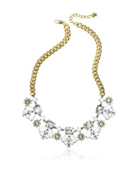 Juicy Couture Crystal And Golden Metal Necklace