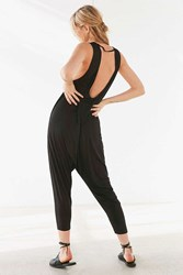 Silence And Noise Robyn Shapeless Jumpsuit Black