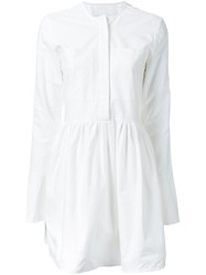 Georgia Alice 'Holiday' Shirt Dress White