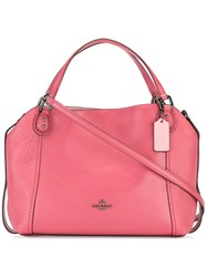 Coach Edie Tote Red