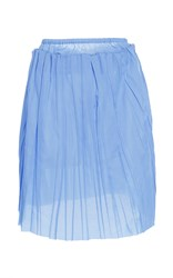 Erika Cavallini Strapless Shell Blouse Light Blue