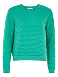 Louche Jan Textured Jumper Green