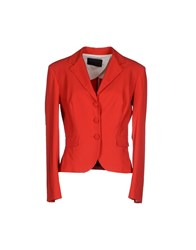 Hilton Suits And Jackets Blazers Women Red