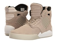 Supra Skytop Iv Olive Khaki White Men's Skate Shoes Beige