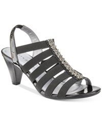 Karen Scott Neema Strappy Sandals Only At Macy's Women's Shoes Black