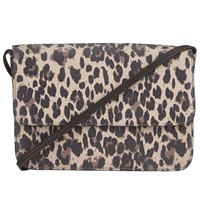 John Lewis Leopard Pepple Animal Crossbody Bag