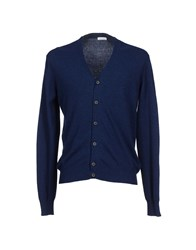 Gold Case By Rocco Fraioli Knitwear Cardigans Men Dark Blue
