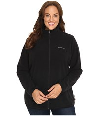 Columbia Plus Size Fuller Ridge Fleece Jacket Black Women's Coat