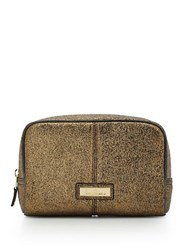 Sam Edelman Zip Top Makeup Case0364 1011234 Bronze