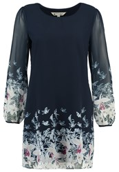 Yumi Valentine Tunic Navy Dark Blue