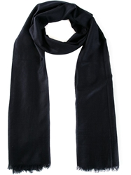 Sofie D'hoore 'Airlight' Woven Scarf Blue