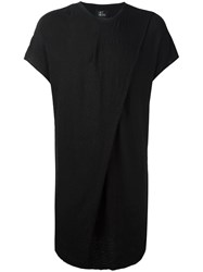 Lost And Found Ria Dunn Elongated T Shirt Black