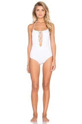 Rachel Pally La Jolla Swimsuit White