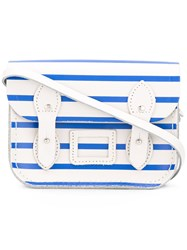 The Cambridge Satchel Company Stripe Tiny White